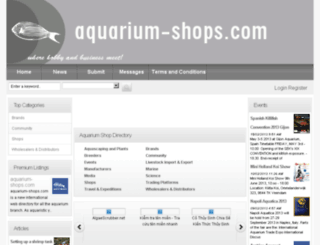 aquarium-shops.com screenshot