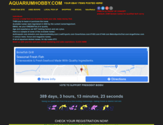 aquariumhobby.com screenshot