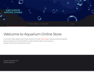 aquariumonlinestore.com.au screenshot