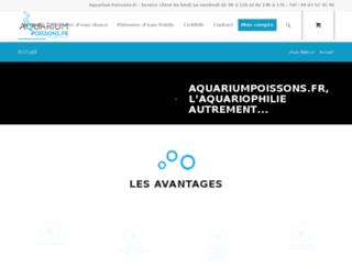 aquariumpoissons.fr screenshot