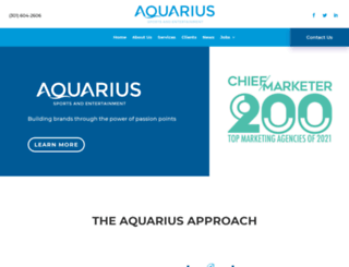 aquarius-se.com screenshot