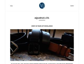 aquariusltd.com screenshot