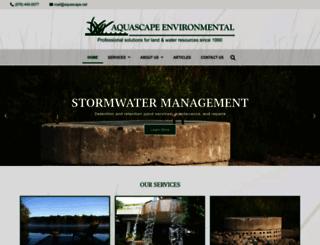 aquascape.net screenshot
