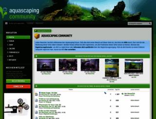 aquascaping-forum.de screenshot