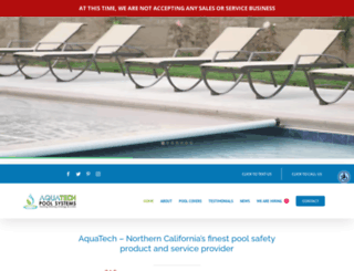 aquatechpoolsystems.com screenshot