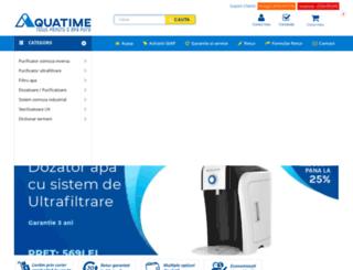 aquatime.ro screenshot