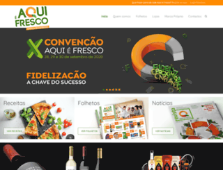 aquiefresco.com screenshot