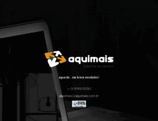 aquimais.com.br screenshot