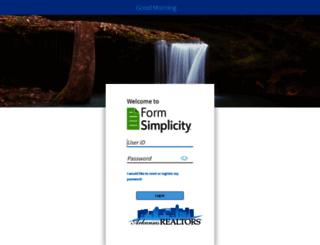 ara.formsimplicity.com screenshot