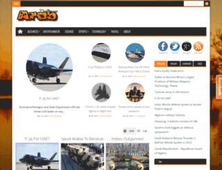 arabdefense.blogspot.be screenshot