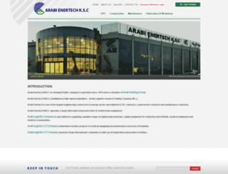 arabienertech.net screenshot