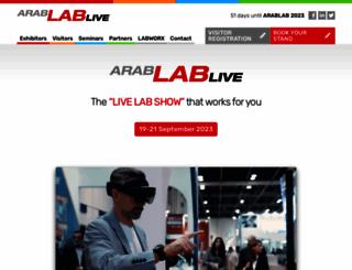 arablab.com screenshot