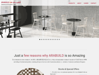 arabuild.ae screenshot