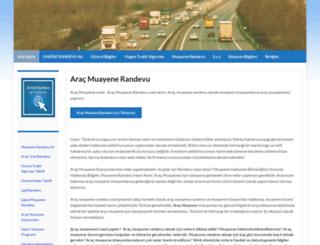 aracmuayenerandevu.web.tr screenshot