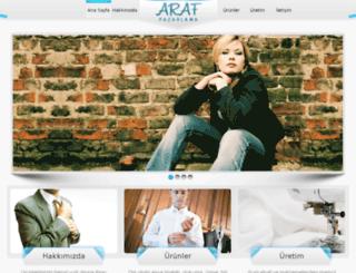 arafpazarlama.com screenshot