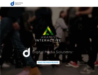 aramisinteractive.com screenshot