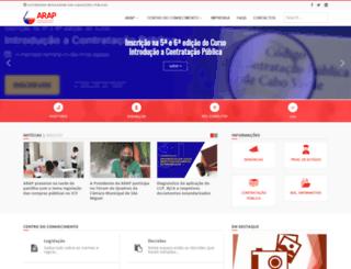 arap.cv screenshot
