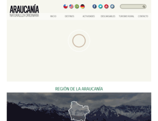 araucania.cl screenshot