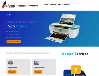 araxacartuchos.com.br screenshot