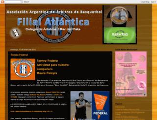 arbitrosbasquetmdp.blogspot.com.ar screenshot