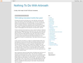 arbroath.blogspot.com screenshot