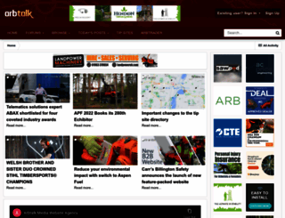 arbtalk.co.uk screenshot
