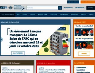 arc-copro.fr screenshot