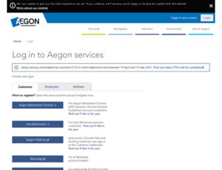 arc.aegon.co.uk screenshot