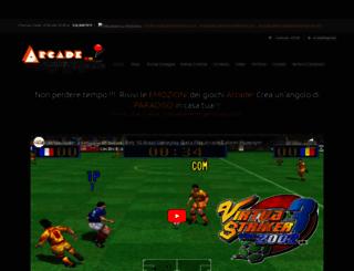 arcadecabinetmachine.com screenshot