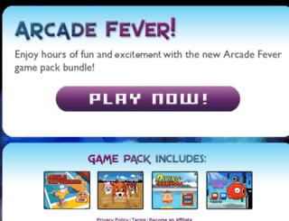 arcadefever.us screenshot