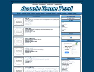 arcadegamefeed.com screenshot