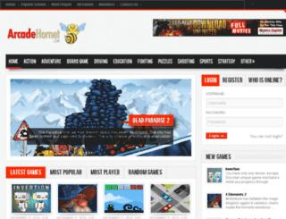 arcadehornet.com screenshot