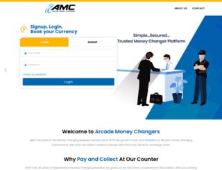 arcademoneychangers.com.sg screenshot