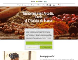 arcadie.fr screenshot