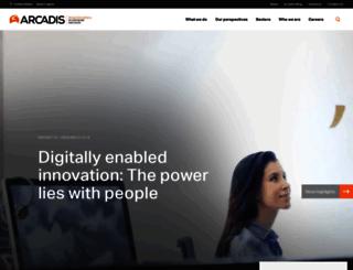 arcadis-us.com screenshot