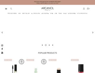 arcancil.com screenshot