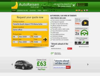 arcarhire.com screenshot