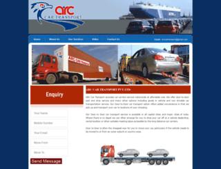 arccartransport.com screenshot