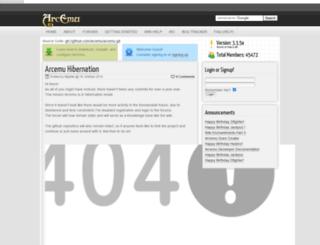 arcemu.org screenshot