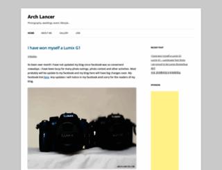arch-lancer.com screenshot