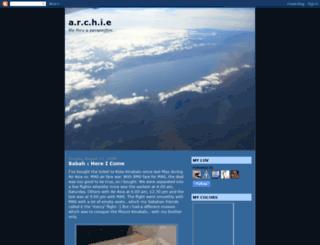 archarel.blogspot.com screenshot