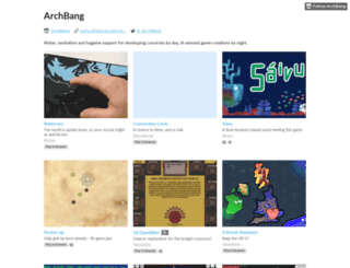 archbang.itch.io screenshot