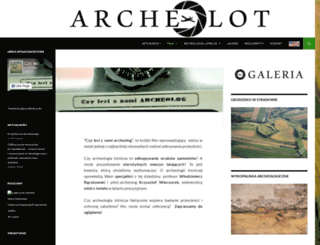 archeolot.pl screenshot