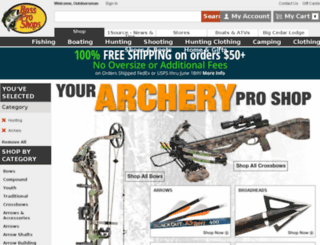 archery.com screenshot