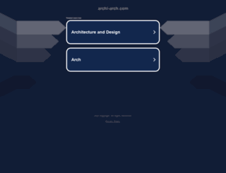 archi-arch.com screenshot