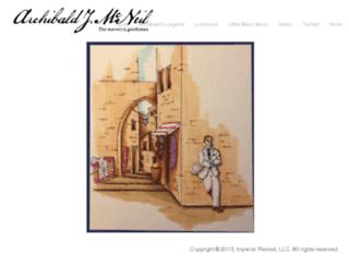 archibaldjmcneil.com screenshot
