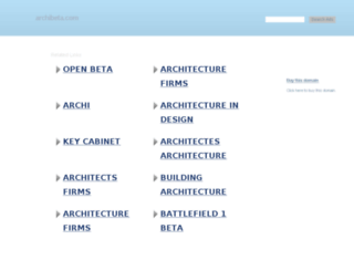 archibeta.com screenshot