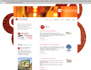 archiduchesse.fr screenshot