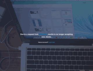 archie.co screenshot
