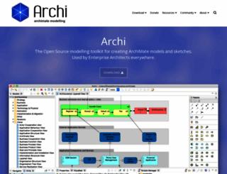archimatetool.com screenshot